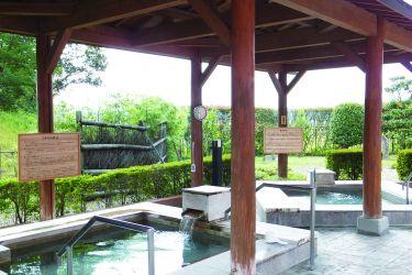 たかみや湯の森「露天檜風呂」